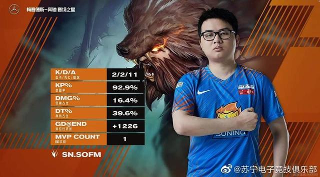 Giành cú đúp MVP giúp Suning chiến thắng dễ dàng, SofM được gọi là cơn ác mộng của LGD Gaming - Ảnh 2.