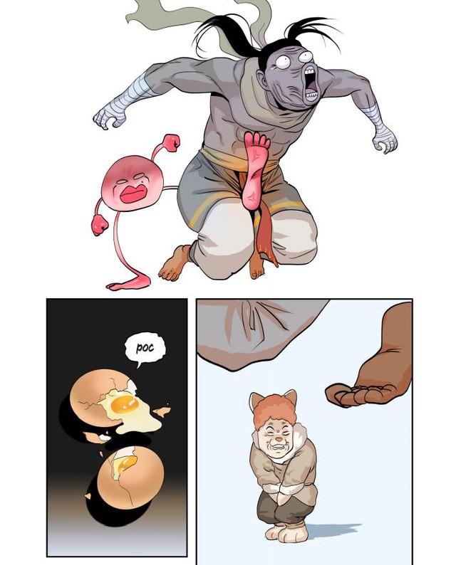"""Siêu phẩm đón tết: Webtoon """"Kế hoạch sống còn của Team Thầy Ba"""" ra mắt 3 chương đầu đầy mặn mòi - Ảnh 7."""