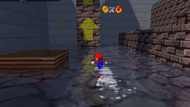 25-year-old game Super Mario 64 suddenly turned super glitter with RTX 3090 and Ray Tracing - Photo 1.