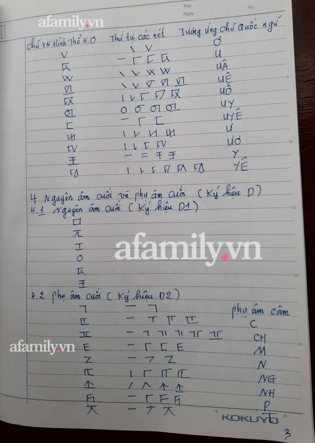 Những ngày cận Tết, tác giả Kiều Trường Lâm chính thức công bố công thức Chữ viết bảo mật 4.0, mong chữ mới được giảng dạy ở đại học vì tính thực tiễn - Ảnh 3.