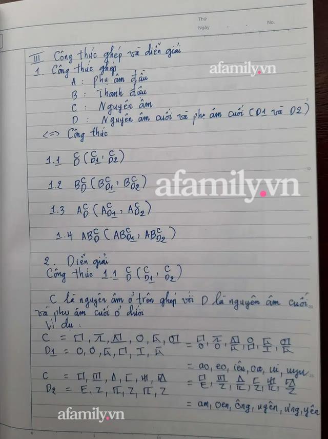 Những ngày cận Tết, tác giả Kiều Trường Lâm chính thức công bố công thức Chữ viết bảo mật 4.0, mong chữ mới được giảng dạy ở đại học vì tính thực tiễn - Ảnh 4.