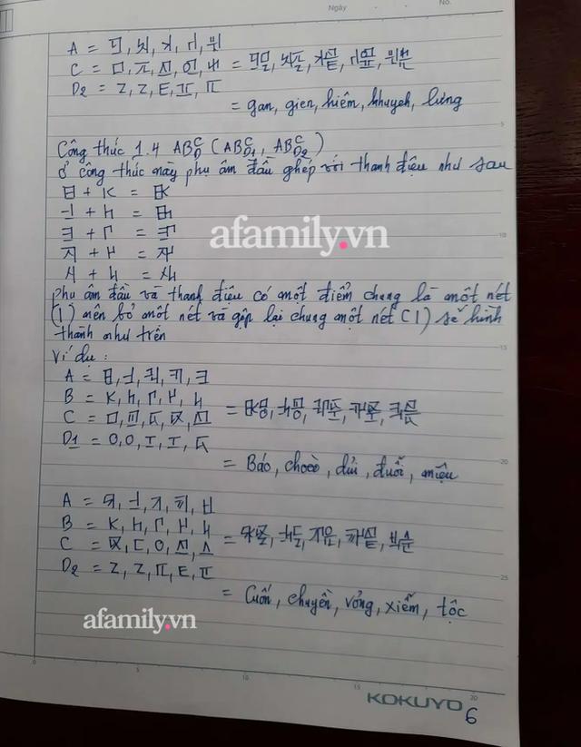 Những ngày cận Tết, tác giả Kiều Trường Lâm chính thức công bố công thức Chữ viết bảo mật 4.0, mong chữ mới được giảng dạy ở đại học vì tính thực tiễn - Ảnh 6.