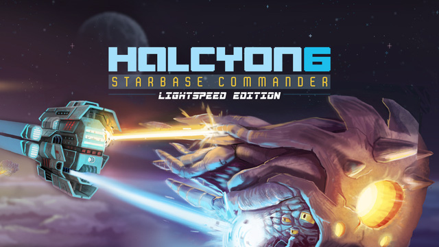 Download the free game Halcyon 6: Starbase Commander now to drive a spaceship to conquer the galaxy - Photo 1.