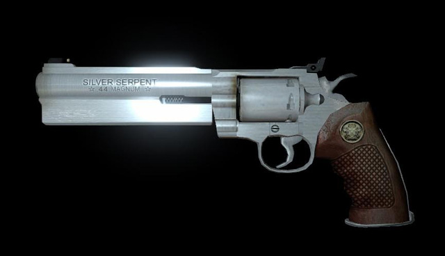 What is Magnum?  Why is this the ultimate weapon class in shooting and survival horror games?  Photo 7.
