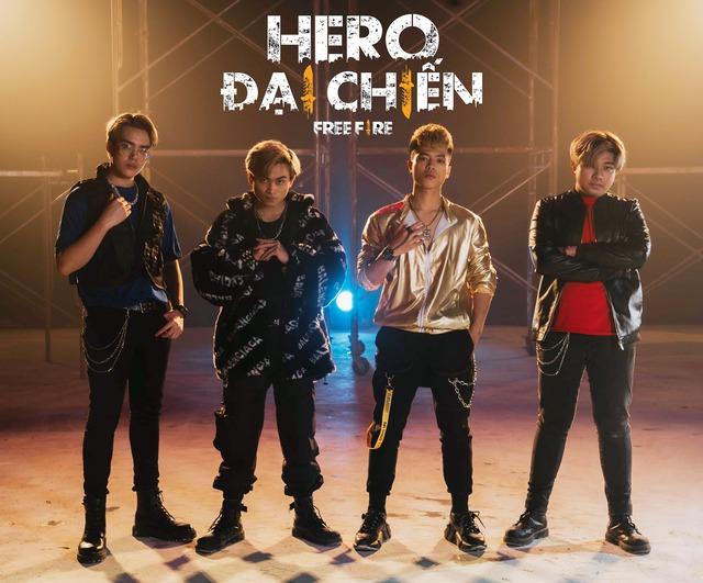 Biệt đội Siêu Anh Hùng – Hero Team vừa ra mắt sản phẩm âm nhạc đầy hứa hẹn, là một thế lực mới của Free Fire năm 2021? - Ảnh 1.