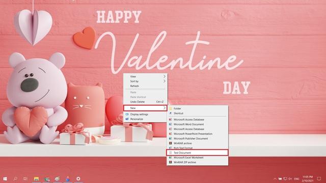 Mẹo tỏ tình crush đậm chất công nghệ bằng Notepad nhân dịp Valentine và cách xử lý khi bị từ chối - Ảnh 1.
