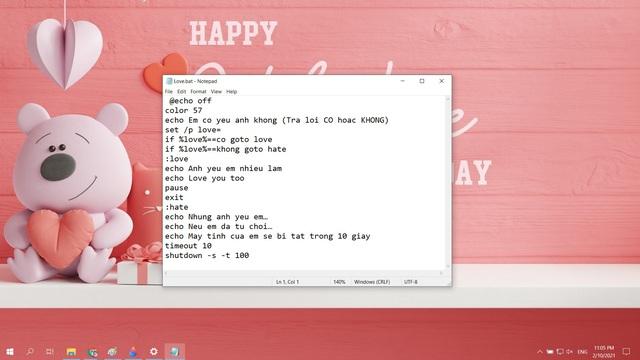 Mẹo tỏ tình crush đậm chất công nghệ bằng Notepad nhân dịp Valentine và cách xử lý khi bị từ chối - Ảnh 2.