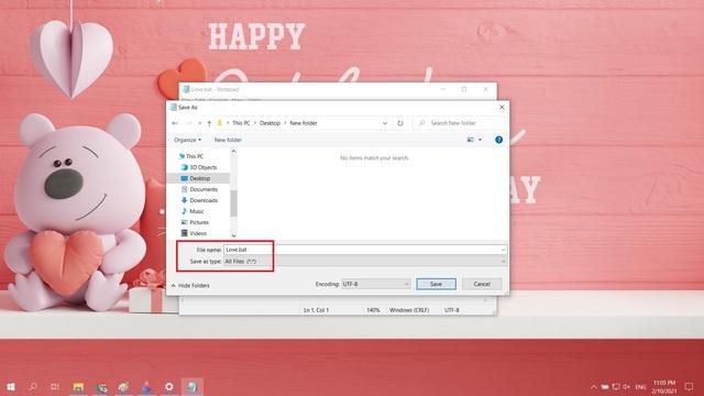 Mẹo tỏ tình crush đậm chất công nghệ bằng Notepad nhân dịp Valentine và cách xử lý khi bị từ chối - Ảnh 3.