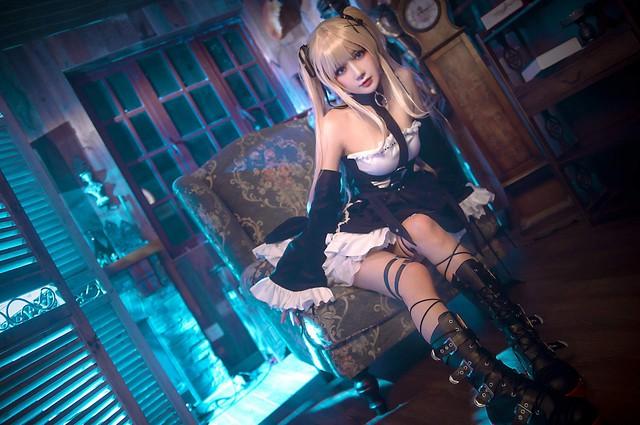 Ngất ngây trước bộ cosplay nàng hầu gái đáng yêu nhất của thế giới Dead or Alive - Ảnh 7.