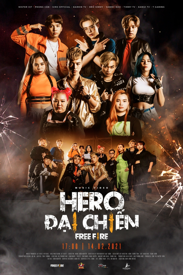 Biệt đội Siêu Anh Hùng – Hero Team vừa ra mắt sản phẩm âm nhạc đầy hứa hẹn, là một thế lực mới của Free Fire năm 2021? - Ảnh 2.