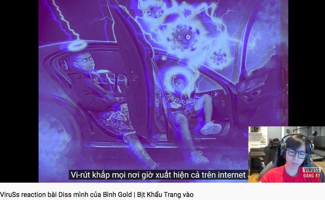 Reaction bản rap diss của Bình Gold, ViruSs ám chỉ điều gì khi nói: Beat hay nhưng lại quen quen - Ảnh 3.