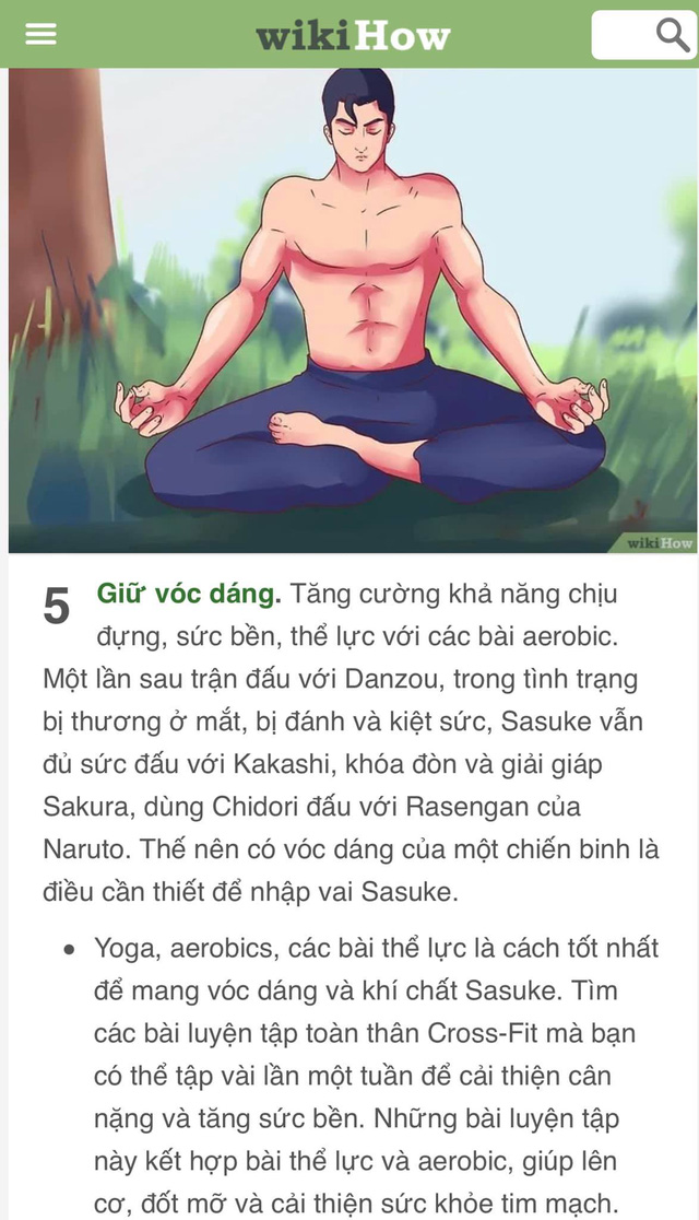 Bạn là wibu nhưng đã chán nản với bản thân? Hãy để WikiHow hướng dẫn bạn cách trở thành Sasuke - Ảnh 11.