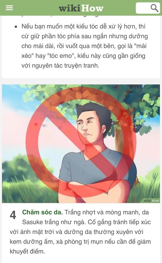 Bạn là wibu nhưng đã chán nản với bản thân? Hãy để WikiHow hướng dẫn bạn cách trở thành Sasuke - Ảnh 10.