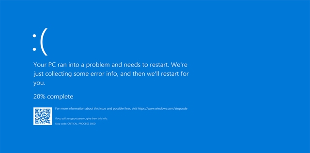 Microsoft releases emergency update patching blue screen - Photo 1.