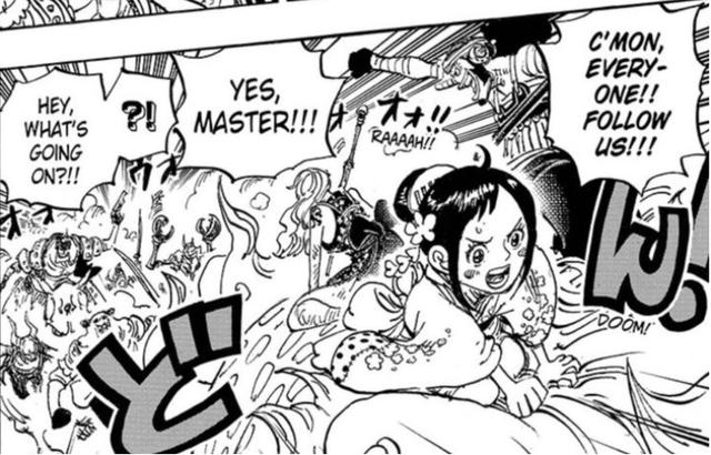 One Piece: Bắt đầu cuộc nổi loạn bên trong băng hải tặc Bách Thú, cục diện trận chiến tại Wano thay đổi quan trọng - Ảnh 3.