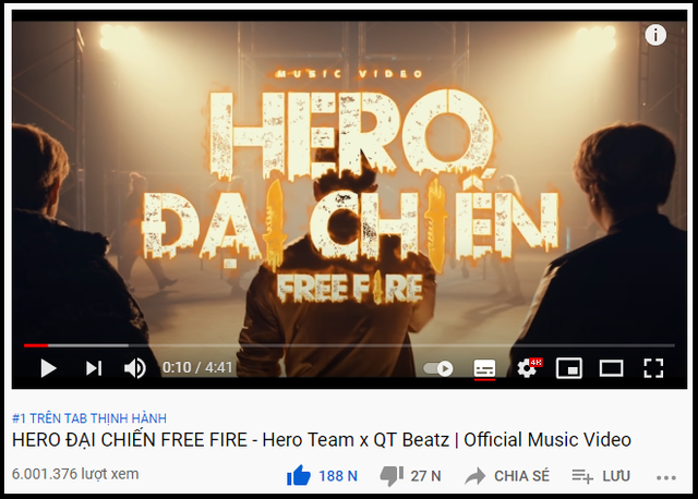 Đạt Top 1 Trending sau 4 ngày ra mắt, càn quét BXH YouTube Tết 2021 không phải là ca sĩ mà lại là một nhóm Youtuber Gaming - Ảnh 3.