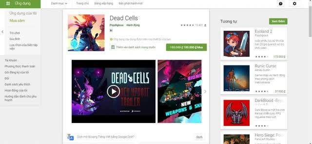 Nhanh tay sở hữu Dead Cells với mức giá cực sốc chỉ dành riêng cho game thủ Android - Ảnh 6.