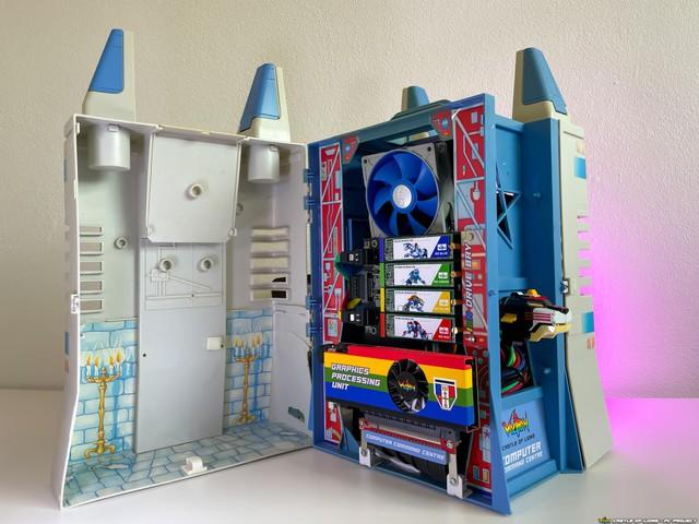 Hô biến bộ đồ chơi ấu thơ thành dàn PC robot Voltron đẹp ngỡ ngàng - Ảnh 4.