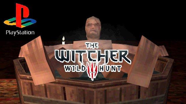 Nhà phát triển biến bom tấn The Witcher 3 thành phiên bản PS1 với đồ họa pixel xấu xí - Ảnh 1.