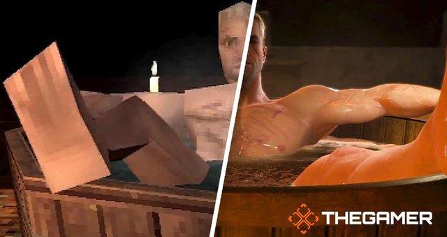 Nhà phát triển biến bom tấn The Witcher 3 thành phiên bản PS1 với đồ họa pixel xấu xí - Ảnh 2.