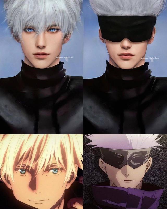 Các nhân vật anime/manga khi được vẽ lại theo phong cách tả thực Photo-1-16139187826872139513832