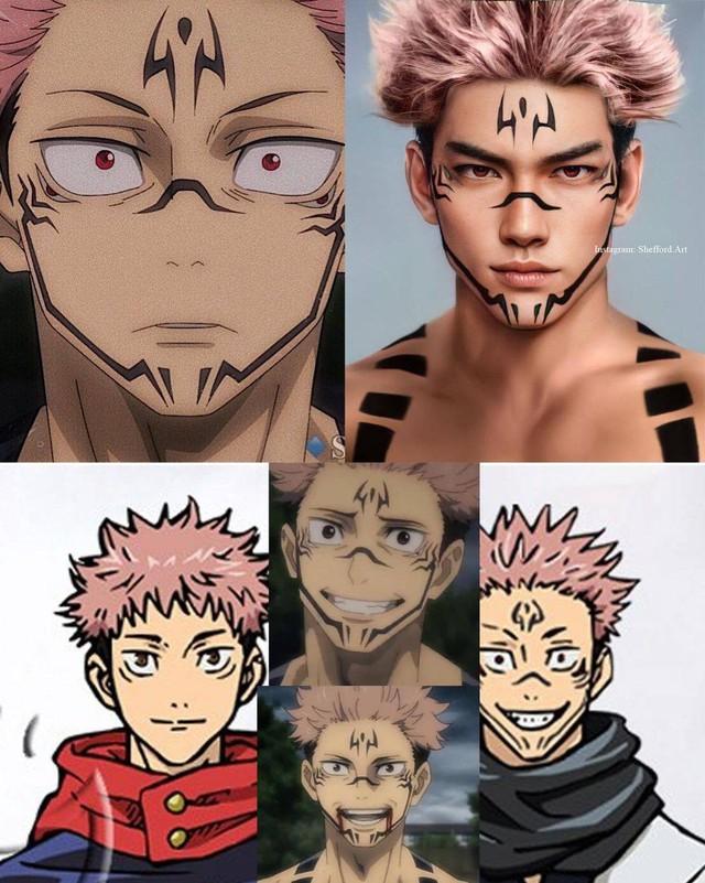 Các nhân vật anime/manga khi được vẽ lại theo phong cách tả thực Photo-1-16139187943721404068758