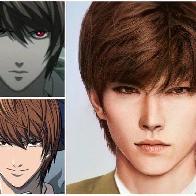 Các nhân vật anime/manga khi được vẽ lại theo phong cách tả thực Photo-1-16139188126071177518715