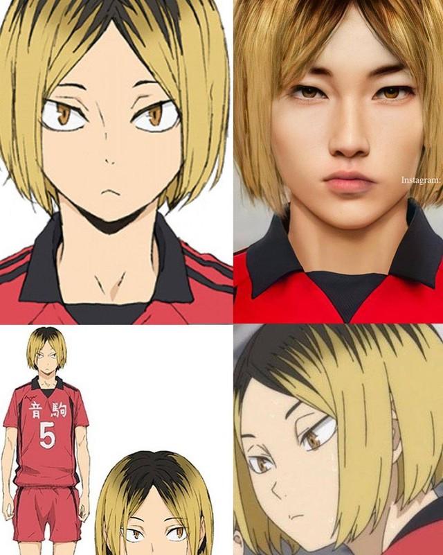 Các nhân vật anime/manga khi được vẽ lại theo phong cách tả thực Photo-1-16139188198281520492159