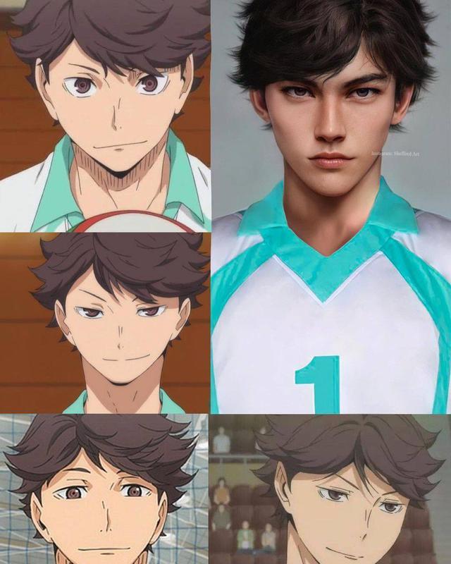 Các nhân vật anime/manga khi được vẽ lại theo phong cách tả thực Photo-1-16139188305781281918491