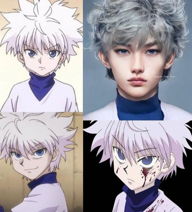 Các nhân vật anime/manga khi được vẽ lại theo phong cách tả thực Photo-1-16139188593501331180199