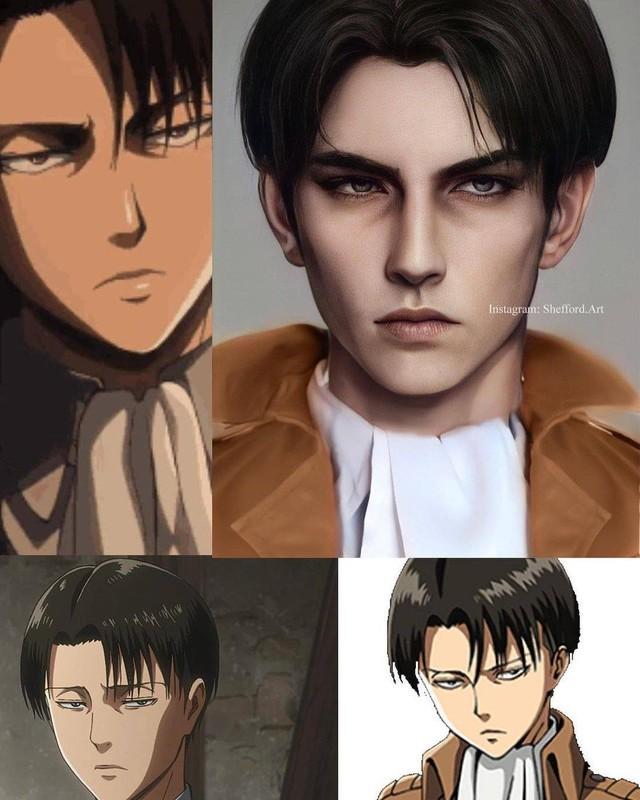 Các nhân vật anime/manga khi được vẽ lại theo phong cách tả thực Photo-1-16139188762891923401332