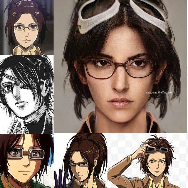 Các nhân vật anime/manga khi được vẽ lại theo phong cách tả thực Photo-1-16139188831652120070250