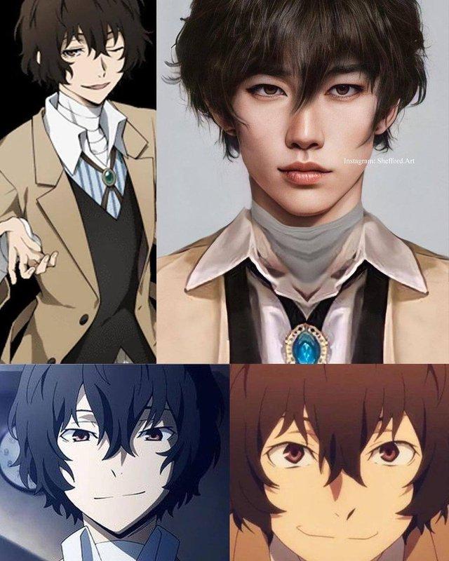 Các nhân vật anime/manga khi được vẽ lại theo phong cách tả thực Photo-1-16139188971161897762686