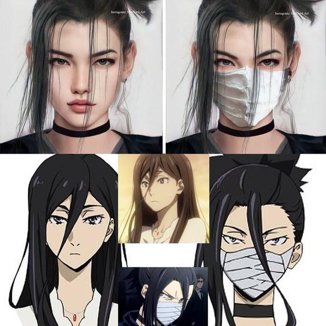 Các nhân vật anime/manga khi được vẽ lại theo phong cách tả thực Photo-1-16139189071711011740511
