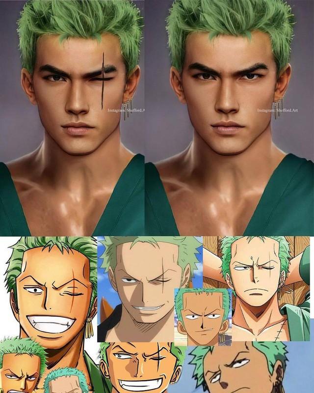 Các nhân vật anime/manga khi được vẽ lại theo phong cách tả thực Photo-1-16139189508761482263275