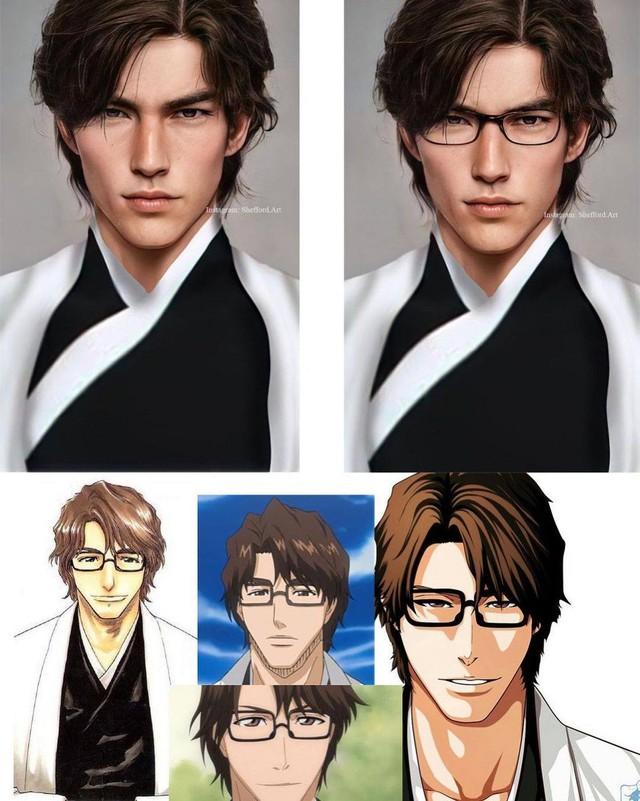 Các nhân vật anime/manga khi được vẽ lại theo phong cách tả thực Photo-1-1613918960348950006361