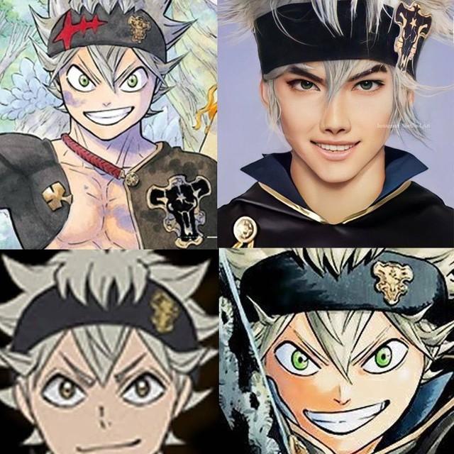 Các nhân vật anime/manga khi được vẽ lại theo phong cách tả thực Photo-1-16139189781852144566237