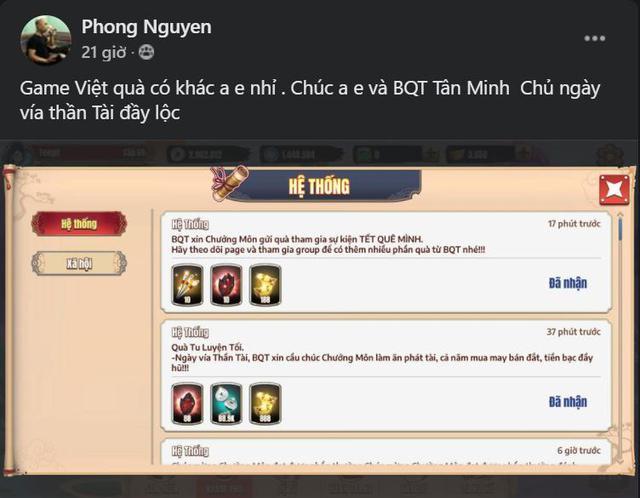 Game của người Việt quả nhiên khác bọt: Tân Minh Chủ tất tay 8 tỷ tiền quà, phát all server nhân ngày... Vía Thần Tài, mỗi người nhận được những gì? - Ảnh 7.