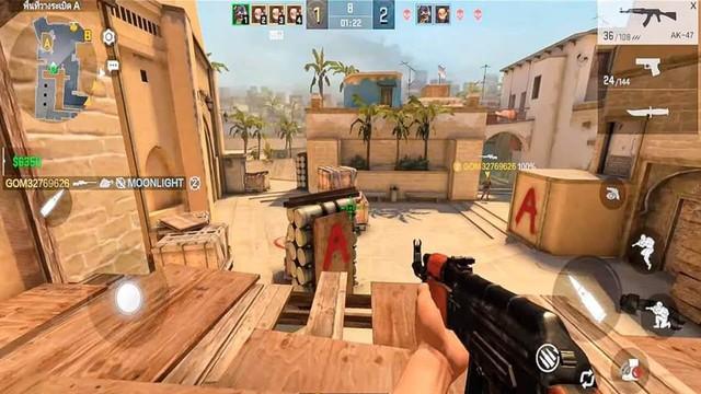 Nóng! Xuất hiện tựa game được xem là CS:GO Mobile, giống bản PC đến 99% từ đồ họa cho tới gameplay - Ảnh 2.