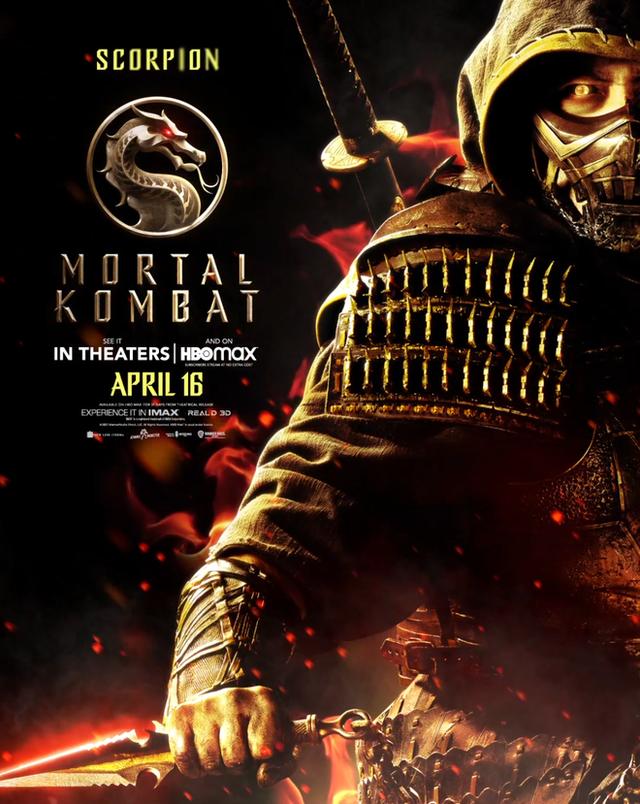 Bom tấn Mortal Kombat tung loạt poster cực chất, fan dòng game đối kháng phấn khích với những gương mặt xịn sò hơn cả phiên bản gốc - Ảnh 3.