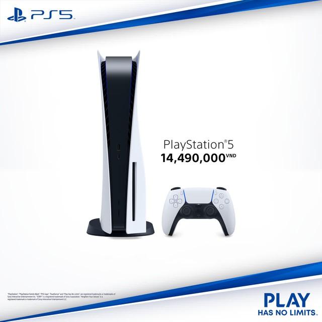 PS5 Việt Nam công bố giá bán cực mềm, học sinh, sinh viên đủ sức mua, đặt trước từ 1/3 - Ảnh 1.