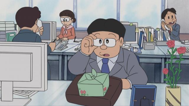 Doraemon: 5 lần bố Shizuka xuất hiện lại là một người khác nhau khiến bà Minamoto suýt mang tiếng lăng nhăng - Ảnh 4.
