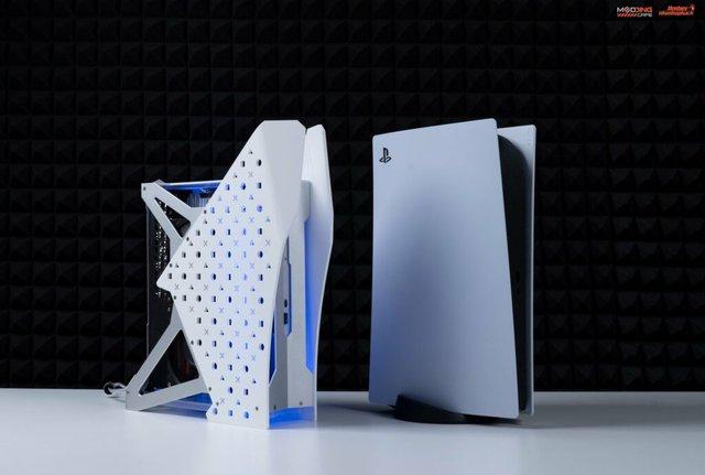 Modder Việt Nam tự tay chế tản nhiệt nước cho PS5 đẹp ngây ngất - Ảnh 3.