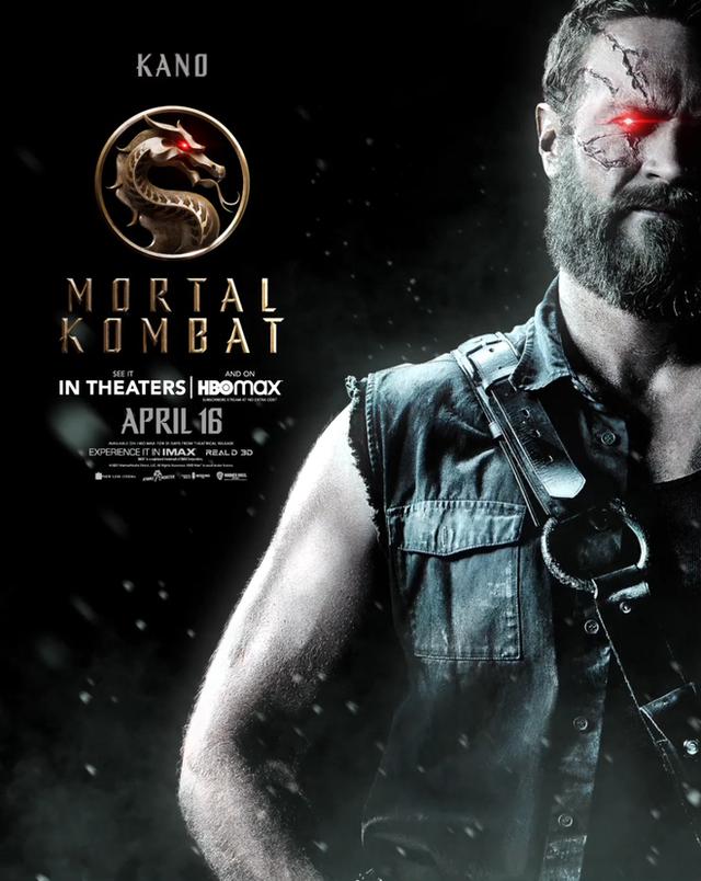 Bom tấn Mortal Kombat tung loạt poster cực chất, fan dòng game đối kháng phấn khích với những gương mặt xịn sò hơn cả phiên bản gốc - Ảnh 7.