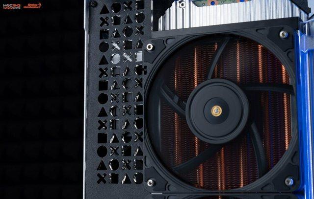 Modder Việt Nam tự tay chế tản nhiệt nước cho PS5 đẹp ngây ngất - Ảnh 5.