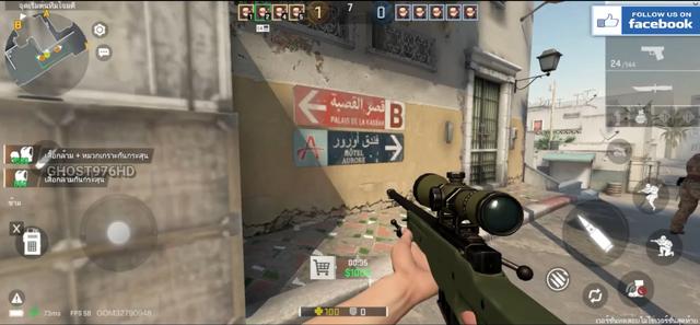 Cận cảnh đồ họa và gameplay của CS:GO Mobile, giống từ cách mua súng cho tới delay đều y xì đúc hàng thật - Ảnh 4.