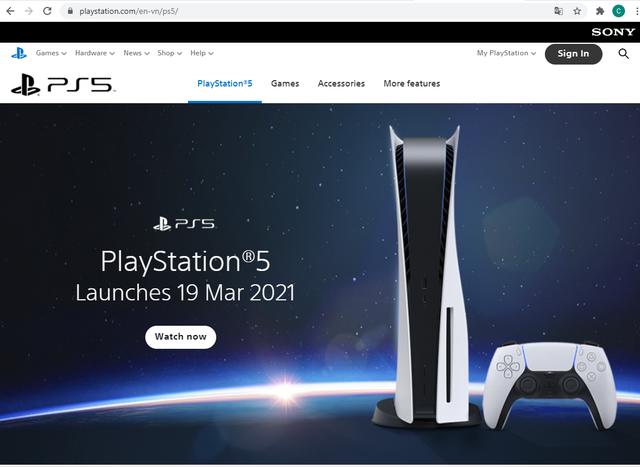 PS5 chính thức ra mắt tại Việt Nam, ấn định ngày phát hành trong tháng tới - Ảnh 1.