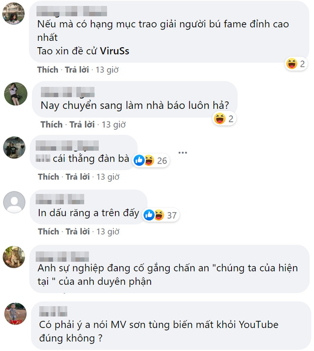 Tranh thủ PR cho gà nhà khi MV của Sơn Tùng gặp biến, fan khó chịu ra mặt với nước đi của ViruSs - Ảnh 2.