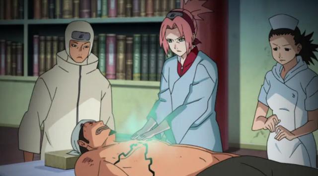Boruto: Sasuke bị lụi Rinnegan, Naruto mất Cửu Vĩ nghiễm nhiên Sakura trở thành người mạnh nhất team 7 - Ảnh 3.