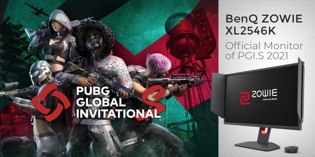 ZOWIE XL2546K của BenQ được công bố là màn hình chính thức của giải đấu PUBG Global Invitational.S 2021 - Ảnh 1.